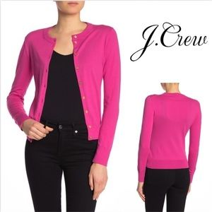 J. Crew Front Button Cardigan